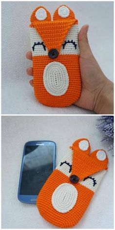 Crochet Phone Pouch Crochet Mobile Phone Case Pattern Ideas - If you are on the hunt for a Crochet Mobile Phone Case Pattern you will love this collection of the cutest ideas. Check them all out now. Crochet Phone Cover, Crochet Case, Crochet Shell Stitch, Crochet Gifts, Crochet Phone Case Pattern Free, Crochet Laptop Case, Free Crochet, Crochet Bag Tutorials, Easy Crochet Projects