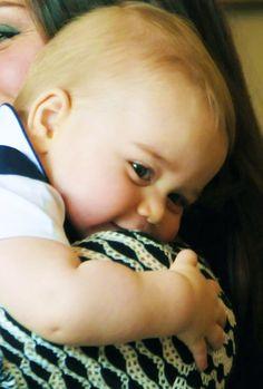 Prince George is too sweet!