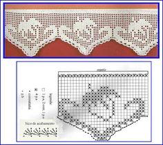 Barrados de Croche: Barrados de Morango