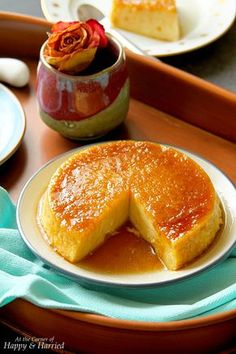 Caramel Bread Pudding (Steamed Or Baked) French Toast Bread Pudding, Caramel Bread Pudding, French Bread French Toast, Pudding Recipes, Bread Recipes, Cooking Recipes, Easy Desserts, Dessert Recipes, Indian Desserts