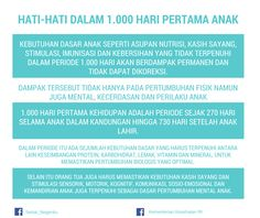 Hati-hati Dalam 1.000 Hari Pertama Anak ~ Infografis Kesehatan Parenting Articles, Parenting Quotes, Kids And Parenting, Parenting Hacks, Baby Growth, Pregnancy Info, Ale, Knowledge, Teaching