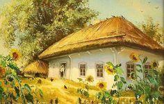 украинские хаты - Bing Изображения