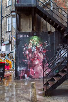 Borondo in London - Best Street Art from March 2014 - Top 5