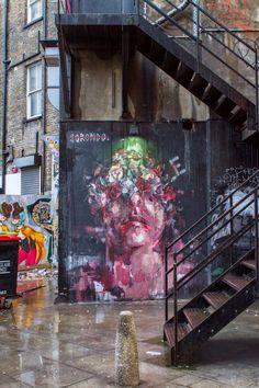 Borondo in London - Best Street Art from March 2014 - Top 5
