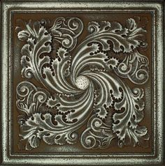 Check out this Daltile product: Metal Signatures Aged Iron Artesia Mural 12 x 12 MS10