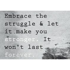 What doesn't kill you makes you stronger  #Padgram