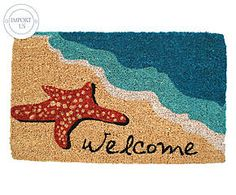 Paillasson STARFISH WELCOME coco, multicolore - 77*46