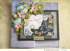 How to craft a fabulous floral card so that your day is WOWED: Z-fold card tutorial - Heartfelt Creations