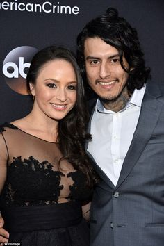 American Crime star and ex-con Richard Cabral 'is divorcing his wife'