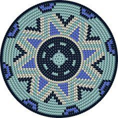BLOG ENTRADA - Tutorial Mochila wayuu maori   La Borda del Crochet Tapestry Crochet Patterns, Weaving Patterns, Knitting Patterns, Beaded Bags, Beaded Jewelry Patterns, Mandala, Beadwork, Ideas, Diy And Crafts