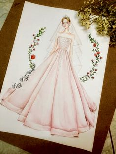 Dress Design Drawing, Dress Design Sketches, Fashion Design Sketchbook, Fashion Design Drawings, Dress Drawing, Fashion Sketches, Fashion Figure Drawing, Fashion Drawing Dresses, Fashion Illustration Dresses