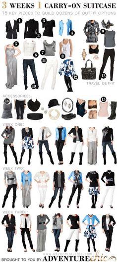Op reis met weinig kleding : Mascha's Beautyblog – Beautygloss.nl