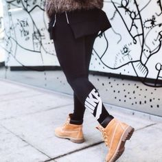 Tims and nike legging