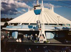 Space Mountain, Magic Kingdom, Walt Disney World, I actually hated this ride. Disneyland World, Disneyland California, Vintage Disneyland, Disneyland Times, Disney World Resorts, Disney Parks, Walt Disney World, Old Disney, Disney Love