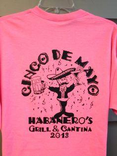 Habaneros Grill and Cantina TShirts