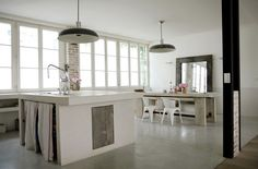 Simple living in France with an industrial touch ♥
