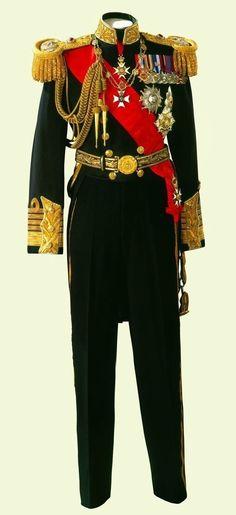 King George VI's Full Dress Uniform of Admiral of the Fleet (1937)