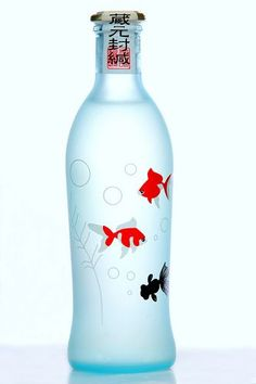 natsu-no-tawamure sake.  I would buy it for the bottle ... The sake would be a bonus!: