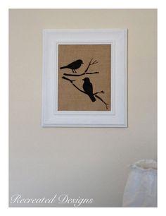 bird i ful new art, chalk paint, crafts, wall decor