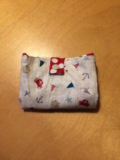 kostenlose Anleitung, Nähanleitung für eine faltbare Einkaufstasche: einfach zu nähen - super praktisch klein zu falten mit Druckknopf