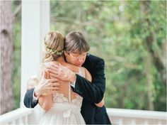 Dad's First Look // Jo Photo // #WildDunesWeddings // Charleston, SC // ht.ly/MmffZ