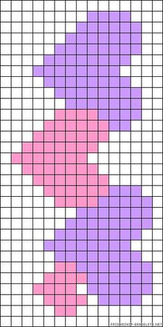 m-stitch veronique veroniquexmas. Loom Bracelet Patterns, Bead Loom Patterns, Beading Patterns, Tiny Cross Stitch, Cross Stitch Designs, Cross Stitch Patterns, Pixel Art Coeur, Knitting Charts, Knitting Patterns