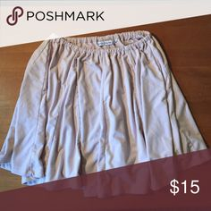 Lucy Hale flowy skirt Pale pink, flowy, suede-like skirt Hollister Skirts Circle & Skater