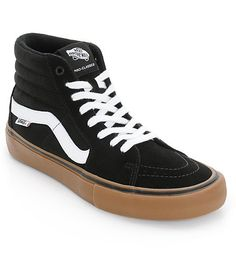 198ef82eb7fe Grab a classic Vans style with an updated Vans Pro footbed for excellent  impact protection in