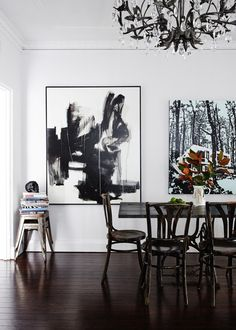 The Sydney apartment of artist Paul Davies and his wife Sarah. Photo - Sean Fennessy. Production - Lucy Feagins for thedesignfiles.net