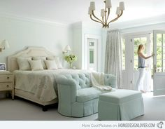 Charming & Calming Colors for Bedrooms | Home Design Lover. Mitchell Wall Architecture & Design