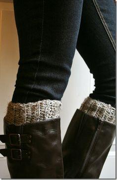 Sarah's Little Random Thoughts: Boot Cuff Crochet Pattern….