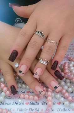 Pretty Nail Art Design Summer ought to be contemporary and fun. Elegant Nail Designs, Best Nail Art Designs, Elegant Nails, Pretty Nail Art, Cute Nail Art, Beautiful Nail Art, Nail Art Design 2017, Nails Design, Super Nails