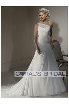 WD11259 one shoulder destination wedding dresses