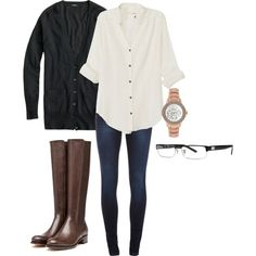 """OOTD 12/30/12"" by gardekm on Polyvore"