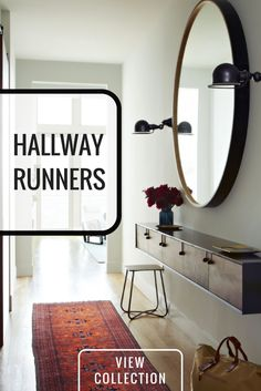 Add some life to your hallway with a genuine handmade Persian rug or kilim hallway runner.