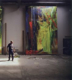 an-overwhelming-question: Timm Rautert - Gerhard Richter, Düsseldorf, 1986