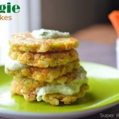 Veggie Pancakes! Breakfast for Busy Kids!