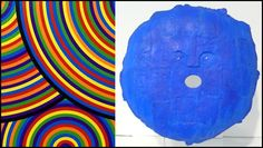 Selective Sighting.  Sol LeWitt 'Bands of Equal Width in Color,' The Wadsworth Portfolio (2000); Robert Courtright Untitled Cast Bronze Mask (1926), Pavel Zoubok Gallery 1stdibs