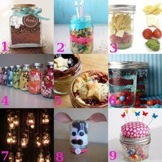 Mason Jar fun : things to do with mason jars