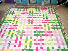 Charley's big girl quilt!