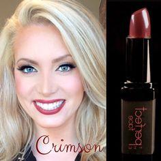 Happy #Valentine's Day. Featuring CRIMSON #lipstick. Available at TPFcosmetics.com. #redlips #darklips #redlipstick #darklipstick #brightlipstick #valentinesmakeup #sexymakeup #whiteteeth #teethwhitening #lipstick #theperfectface #danielledoyle #missgeorgiausa @kaylinreque
