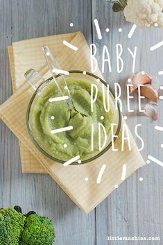 Cauliflower And Brocolli Baby Porridge Baby Porridge Recipe, Porridge Recipes, Broccoli Puree, Fresh Broccoli, Healthy Baby Food, Healthy Snacks For Kids, Starting Solids Baby, Baby Puree, Soft Foods