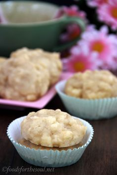 Mini Baked Apple Fritters - low cal version