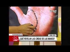 Aprenda lo que revelan las líneas de las manos: Línea de la vida - YouTube
