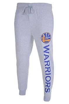 NBA Golden State Warriors Men's Basic Jogger Pants, Large, Heather Gray  http://allstarsportsfan.com/product/nba-mens-active-basic-french-terry-jogger-pants/?attribute_pa_teamname=golden-state-warriors&attribute_pa_size=large  Officially Licensed By The NBA (National Basketball Association) Perfect for running, sports, exercise, fitness, lounging around the house, or anything in between High quality screen print graphics of team logo and name