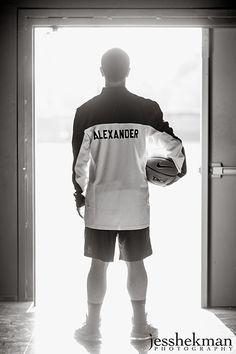 Basketball senior photos {JessHekman Photography}