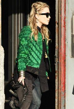 Mary Kate Olsen. The hair!