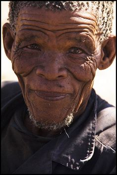 The Ju/Hoansi Bushmen of the Kalahari Desert, Namibia