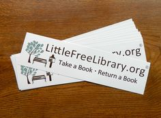 Now you can show your love of Little Free Libraries as you cruise around town or road trip across the country. This package of 10 bumper stickers is a great way for Little Free Library stewards and supporters to continue spreading the word ...