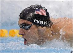 Michael Phelps Swimming USA - Beijing Olympics 2008